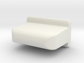 Unimog directional light blanker in White Natural Versatile Plastic