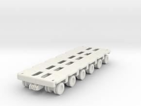 Goldhofer SPMT Modular Trailer 1/144 in White Natural Versatile Plastic