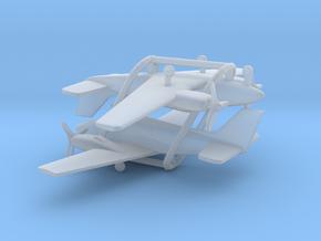 Beechcraft Baron G58 in Smooth Fine Detail Plastic: 6mm