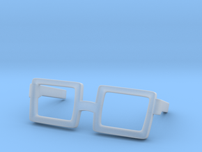 Glasses for Velma in Smooth Fine Detail Plastic: Medium