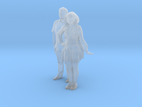 Printle C Couple 550 - 1/87 - wob in Smooth Fine Detail Plastic