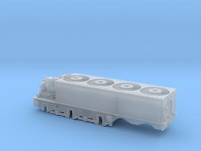 N Gauge Beyer-Ljungstrom Turbine Locomotive #2 in Smooth Fine Detail Plastic