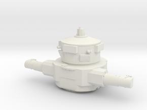 1/96 IJN Yamato Aft top Rangefinder in White Natural Versatile Plastic