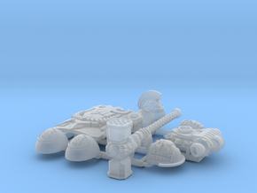 Character Kit: Captian Regulos in Smooth Fine Detail Plastic