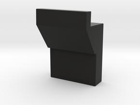 Alternative Acrylic Hologram Support Bracket in Black Natural Versatile Plastic