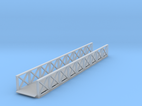 Medford foot bridge Z scale in Smooth Fine Detail Plastic