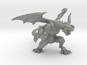 Black Dragon 6mm monster Infantry miniature model in Gray PA12