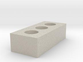 1/12 Scale Brick in Natural Sandstone