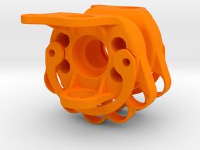 DravTech Mini Knuckle in Orange Processed Versatile Plastic