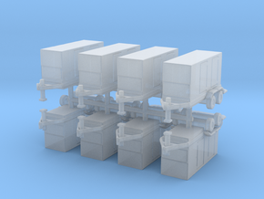 CAT XQ350 Generator (x8) 1/500 in Smooth Fine Detail Plastic