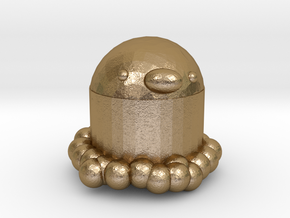 Diglett in Polished Gold Steel