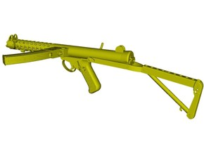 1/12 scale Sterling L-2A3 submachinegun B x 1 in Smooth Fine Detail Plastic