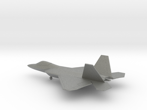 Lockheed Martin F-22 Raptor in Gray PA12: 1:200