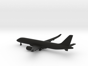 Bombardier CSeries 300 in Black Natural Versatile Plastic: 1:500