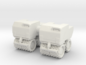 Trench Compactor (x2) 1/100 in White Natural Versatile Plastic