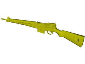 1/16 scale MAS-49 rifle x 1 in Smooth Fine Detail Plastic