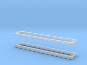 Handles Square Bases: Fridge (4pc) in Smooth Fine Detail Plastic