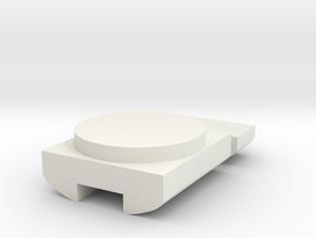 Intermountain EMD FT Speaker Baffle HO in White Natural Versatile Plastic