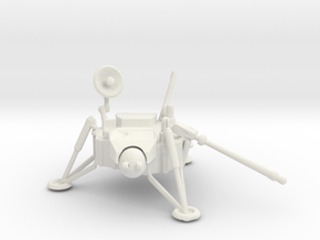 1/72 Scale Viking Lander in White Natural Versatile Plastic