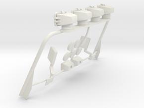 Tamiya Mopar Jeep Light Bar Assy V3.0 in White Natural Versatile Plastic