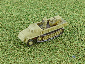 s. Wehrmachtsschlepper w. Uhu Searchlight 1/285 in Smooth Fine Detail Plastic