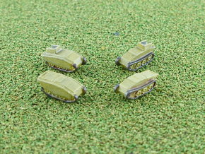SdKfz. 304 Springer 1/285 6mm in Smooth Fine Detail Plastic