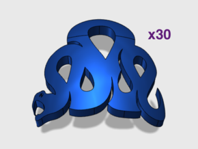 30x Iron Snakes : Shoulder Insignia pack in Smooth Fine Detail Plastic