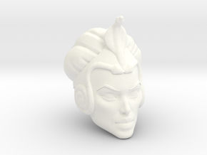 Zilora Head in White Processed Versatile Plastic
