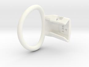 Q4-T135-04D6C in White Processed Versatile Plastic
