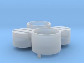 Moebius EVA Pod: Pipe Thingies EZ-Paint in Smooth Fine Detail Plastic