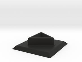 Cube Holder in Black Natural Versatile Plastic