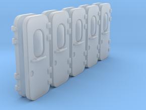 Ship Door Typ B 8x in Smooth Fine Detail Plastic: 1:75