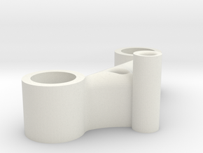 Exovest Allen Key holder (5mm Flowcine) in White Natural Versatile Plastic