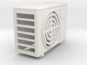 air conditioning Typ A  in White Natural Versatile Plastic: 1:25
