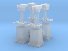 Column Drill (x4) 1/87 in Smooth Fine Detail Plastic