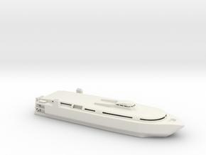 1/700 Scale TSV-1X SPEARHEAD US Army WL in White Natural Versatile Plastic