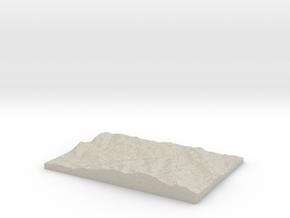Model of Nagasthenna in Natural Sandstone