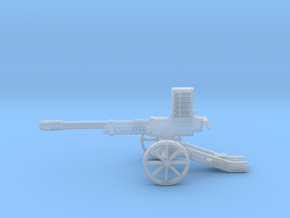 28mm Steampunk Automatic Cannon in Smooth Fine Detail Plastic