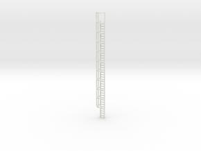 40ft Cage Ladder 1/72 in White Natural Versatile Plastic