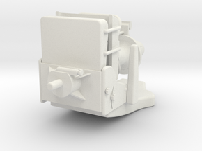 Seat Typ C in White Natural Versatile Plastic: 1:25