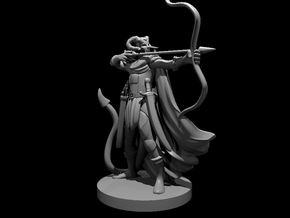 Tiefling  Male  Ranger in Smooth Fine Detail Plastic
