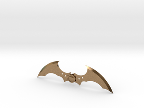Arkham Asylum Batarang in Natural Brass