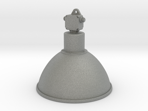 Industrial Lamp 01. 1:12 Scale  in Gray PA12