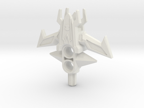 (Hilt Only) DOOM Toa Crucible for Bionicle in White Natural Versatile Plastic