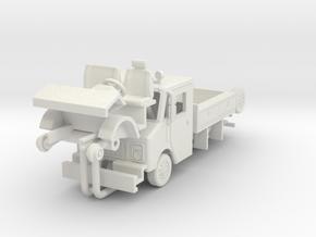 1/48 Conrail GMC/Grumman work truck in White Natural Versatile Plastic