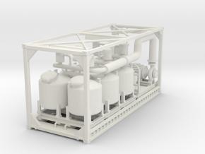 Filter system in White Natural Versatile Plastic: 1:75