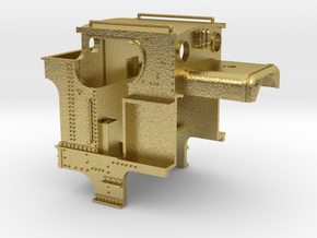 517 Rear (Closed Cab - 1473 Late) in Natural Brass
