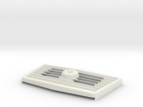 WHIRLCARE 100 GRILL VERSION 3 in White Natural Versatile Plastic