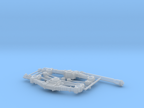 DUKW suspension correction set Italeri Airfix 1:35 in Smoothest Fine Detail Plastic