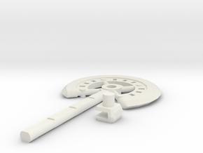 TF war axe 2 in White Natural Versatile Plastic